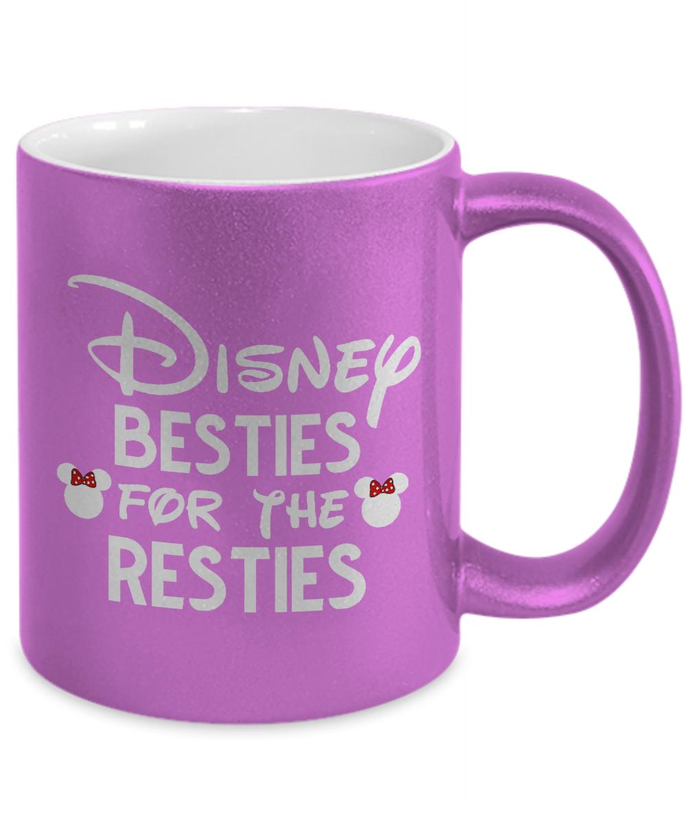 Disney Besties for the Resties Funny Mug Gift for Best