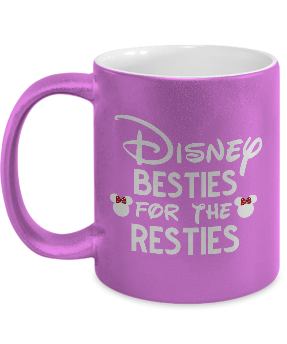Disney Besties for the Resties Funny Mug Gift for Best Friend