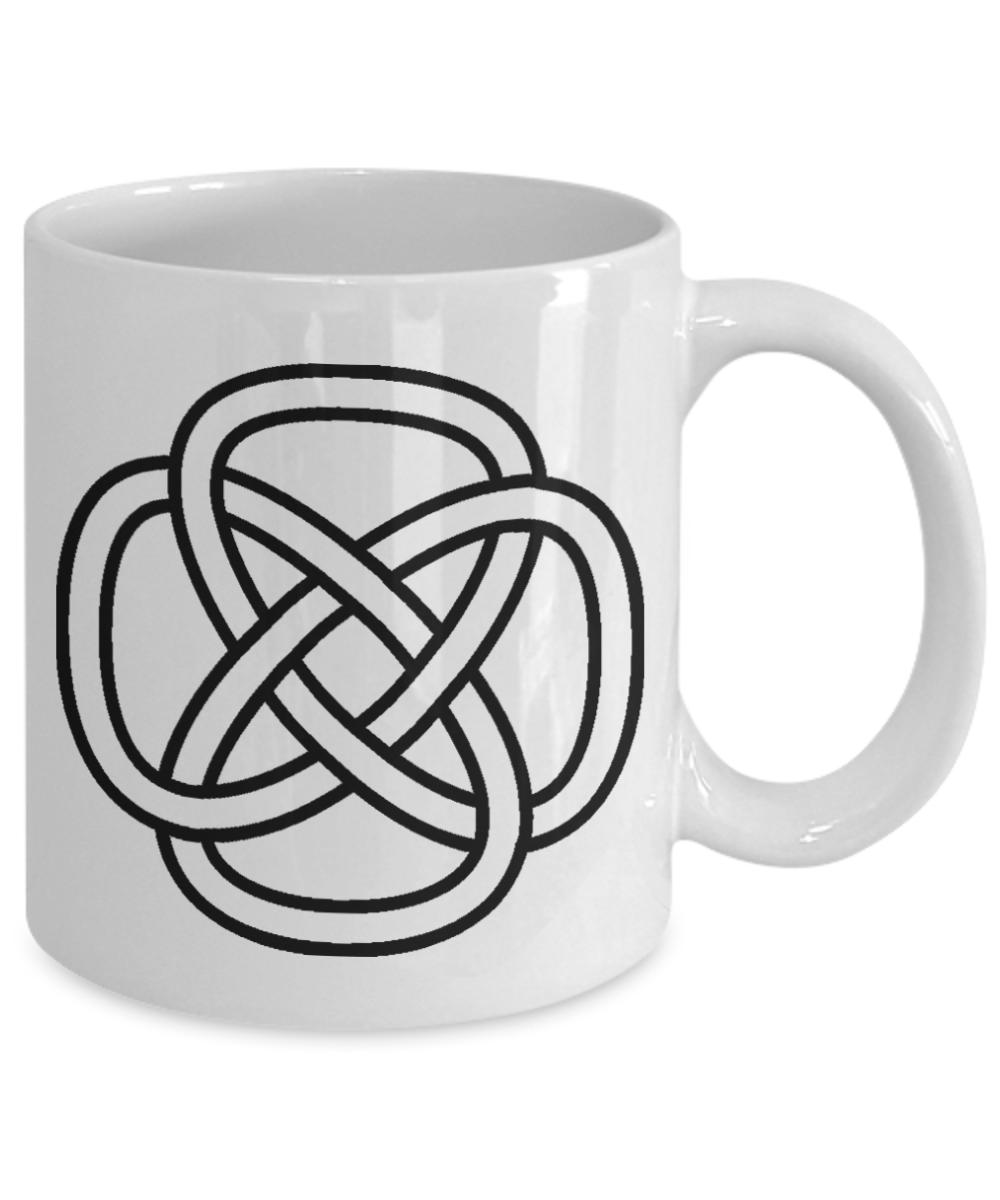Celtic eternal knot coffee mug irish gift ceramic ebay celtic eternal knot coffee mug irish gift ceramic buycottarizona Image collections