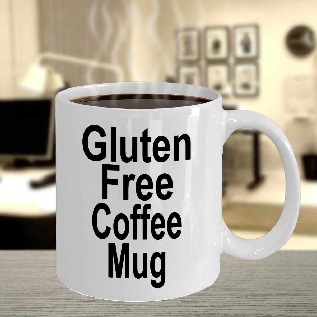 Gluten Free Coffee Mug Funny Ceramic Mug