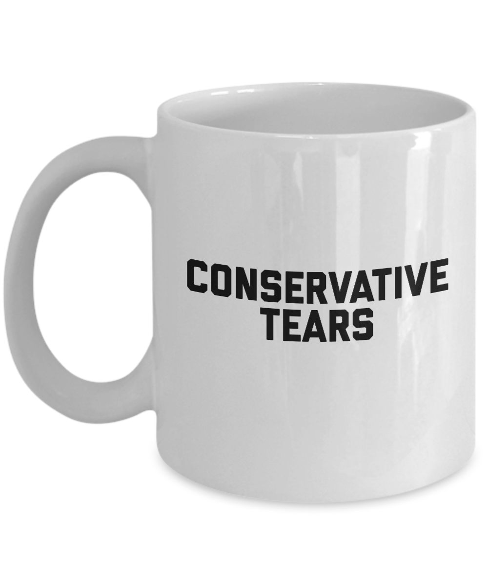 conservative tears mug coffee cup conservative gifts gearbubble