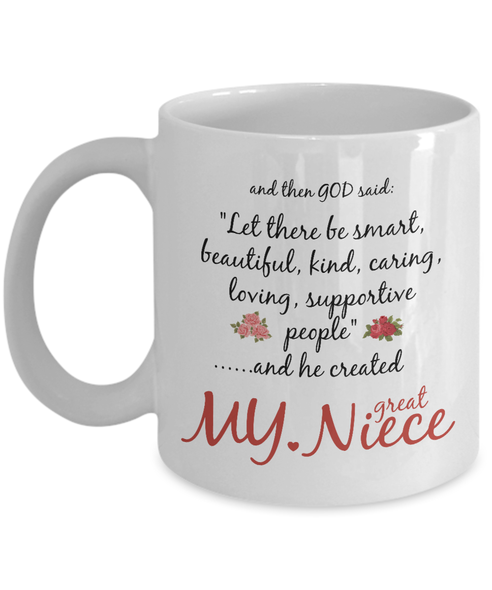 Worlds Best Niece Funny Mug Best Gifts For Niece Funny Coffee Cup For Niece