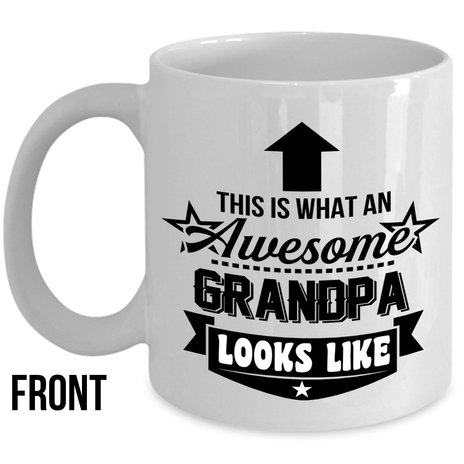 This Is What An Awesome Grandpa Looks Like Mug Best