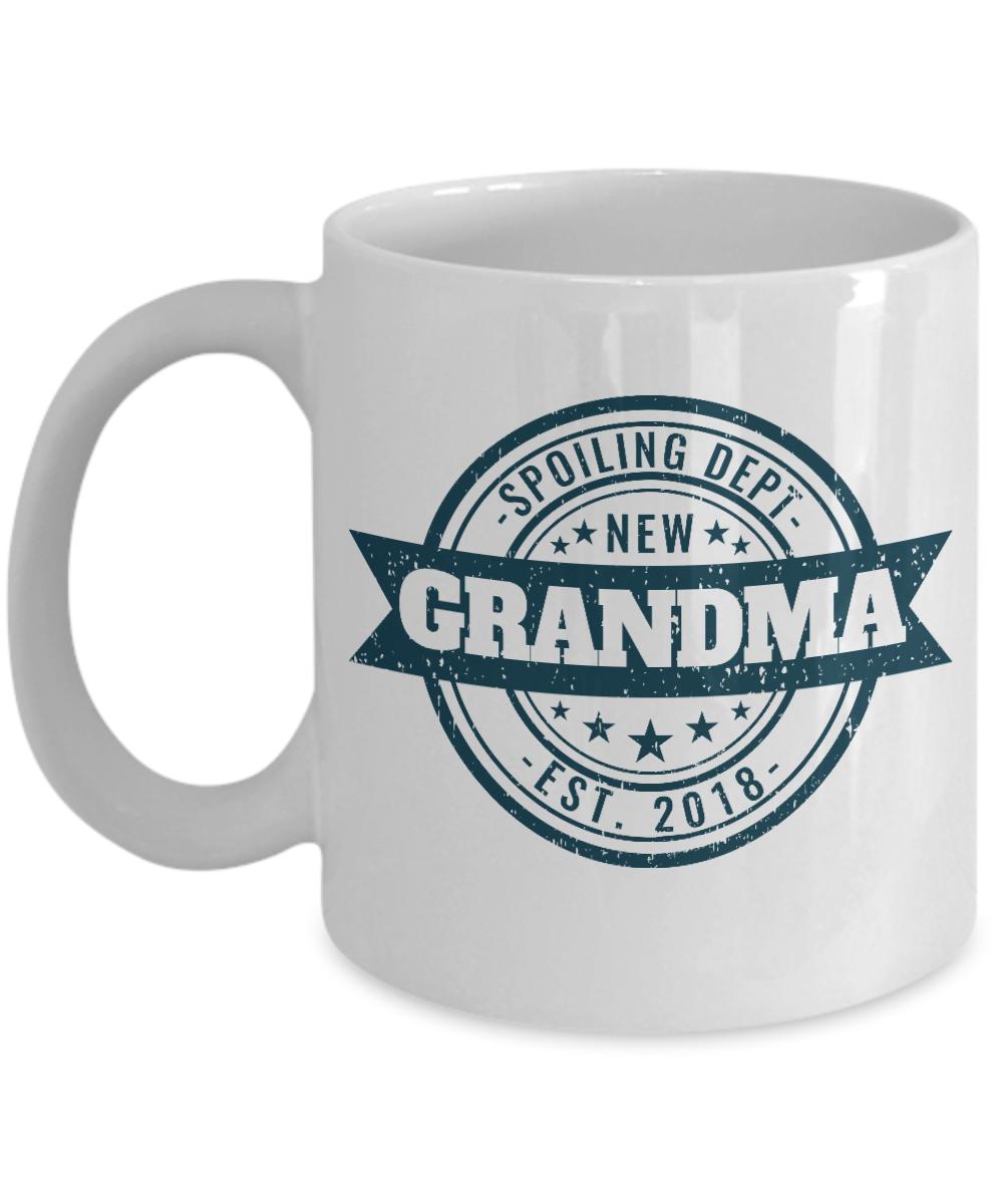 Future Grandma Mug Spoiling Dept New Est 2018