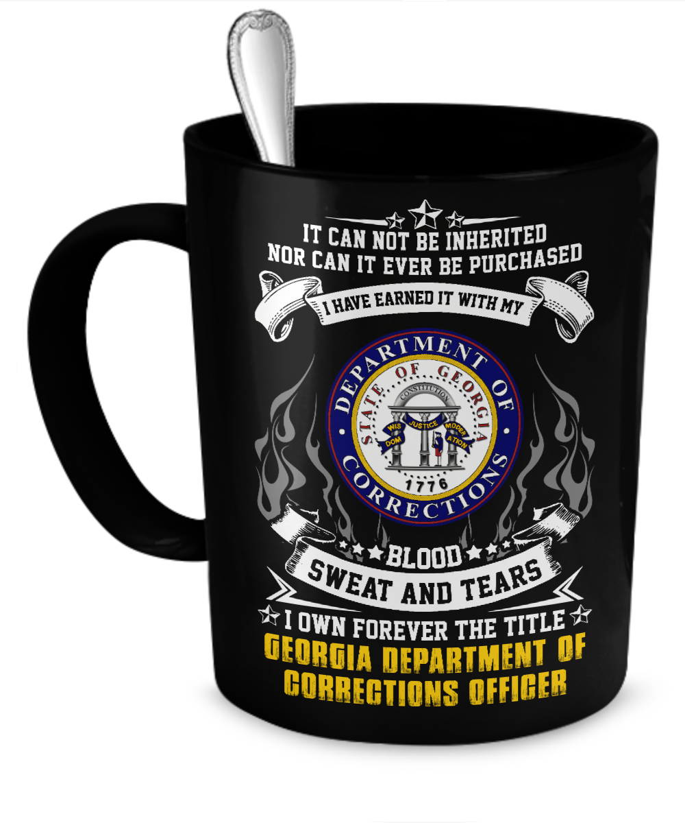 Georgia Department of Corrections officer