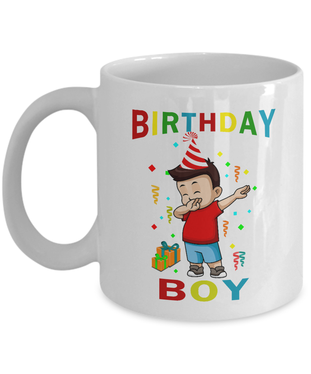 Birthday Boy Mug Cup Cups For Kids Party