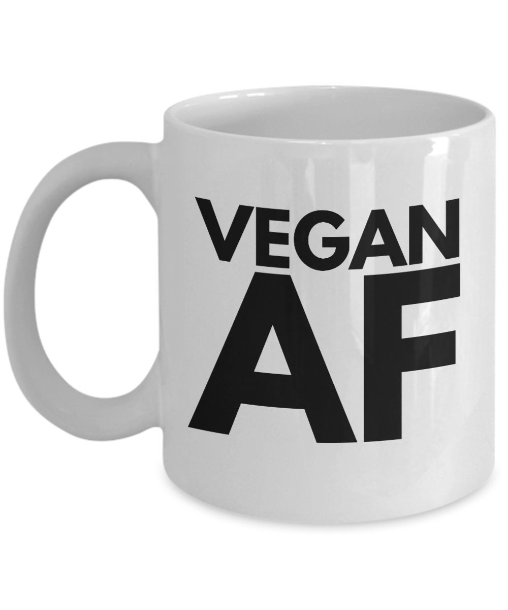 Vegan AF Coffee Mug