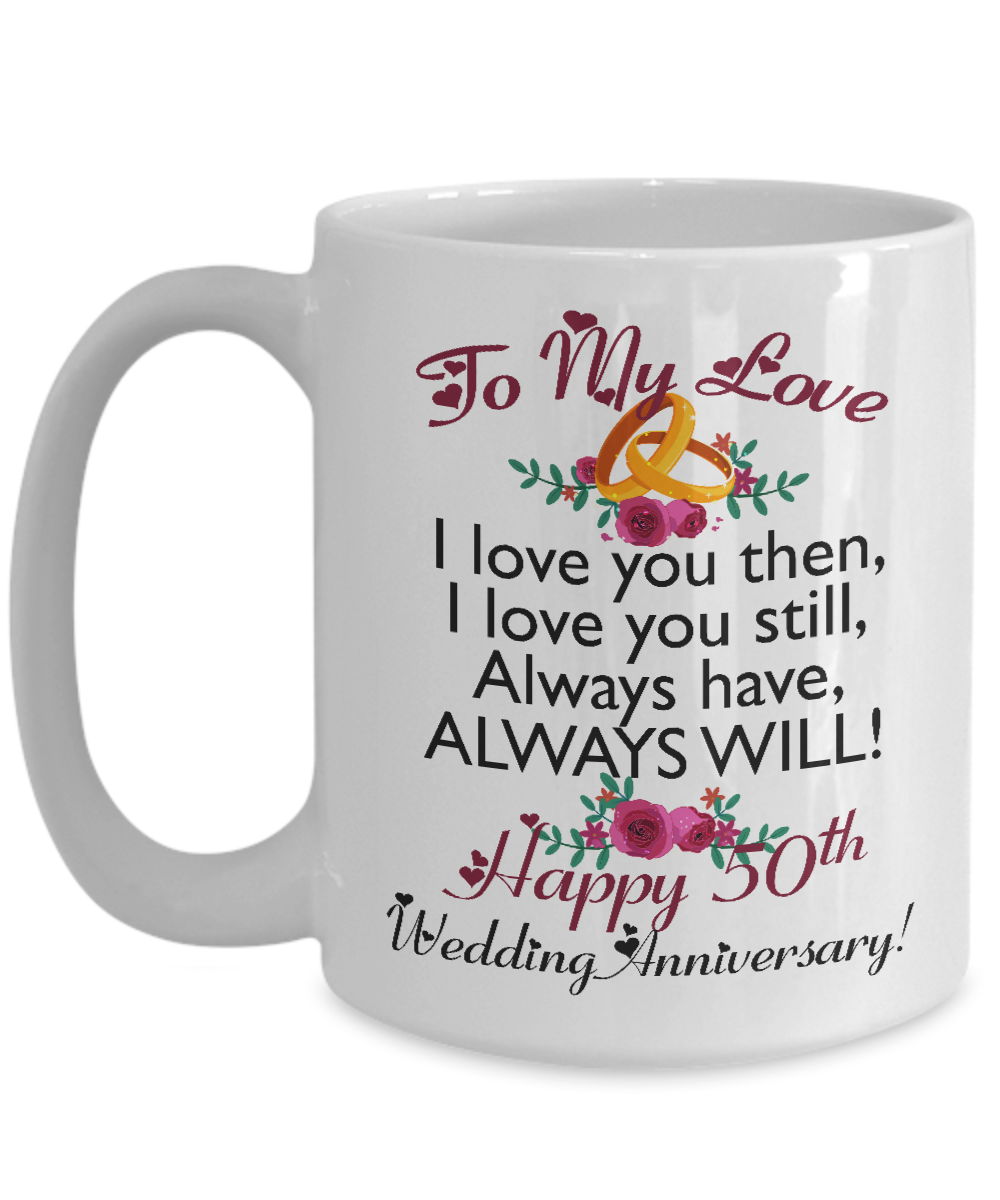 Wedding Anniversary Gifts For Her: 50th Wedding Anniversary Gifts For Men Women Wife Husband