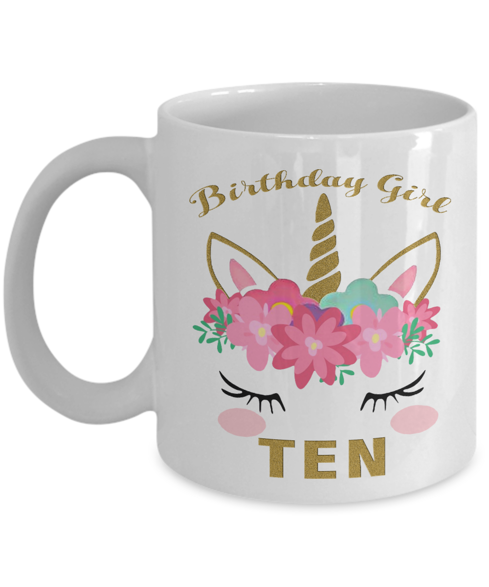 Kids 10 Years Old Girl Gift Front