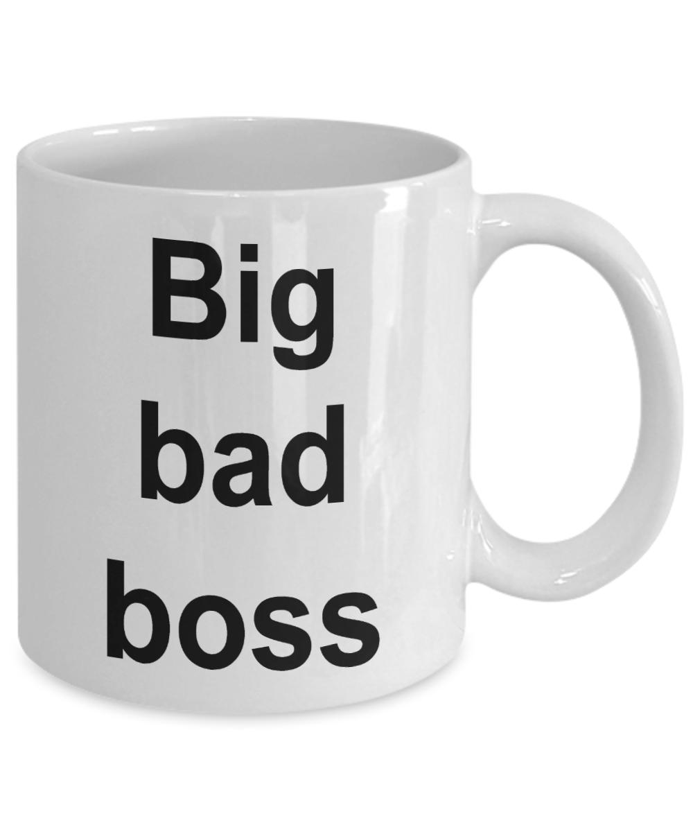 Funny Boss Coffee Mug Office Work Gag Gift for Coworker ...
