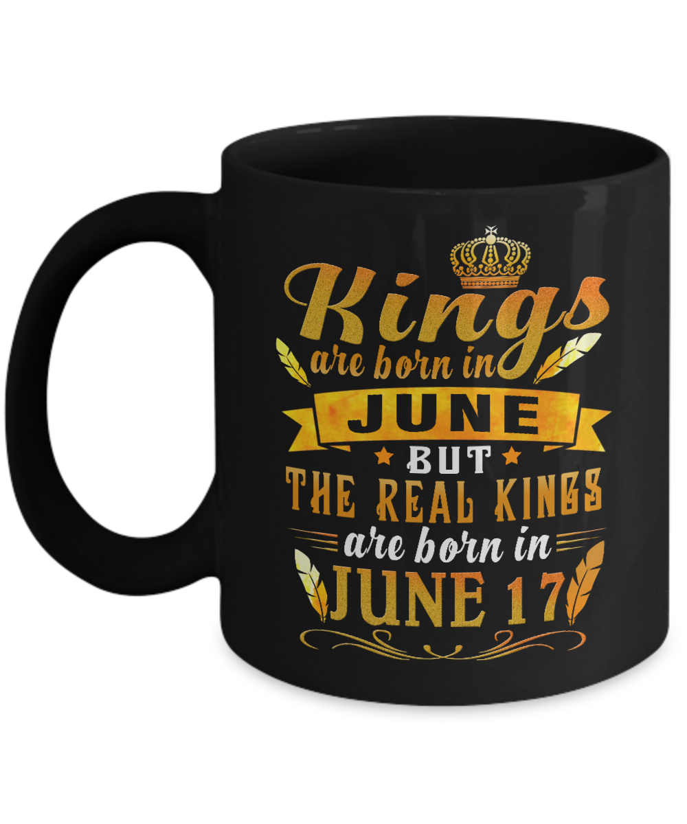 Kings Are Born In June But The Real 17 Cup