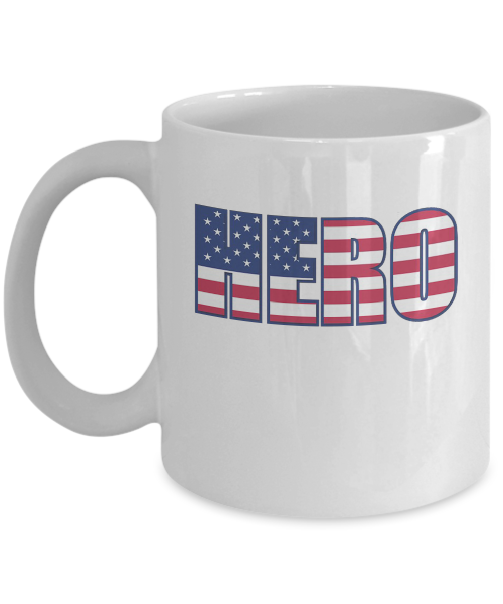 0738caa2 Hero US Flag, Mug Day Coffee Memorial Gift Navy Veteran Military Mugs Gift  - Great Gift for 4th July, Memorial Day, Veterans Day: Gearbubble Campaign