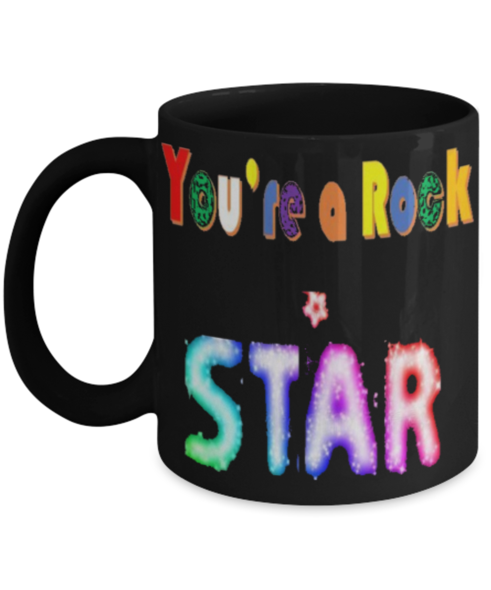 Tea Are Coffee You A Colorful Mug Rockstar rdxeoBC