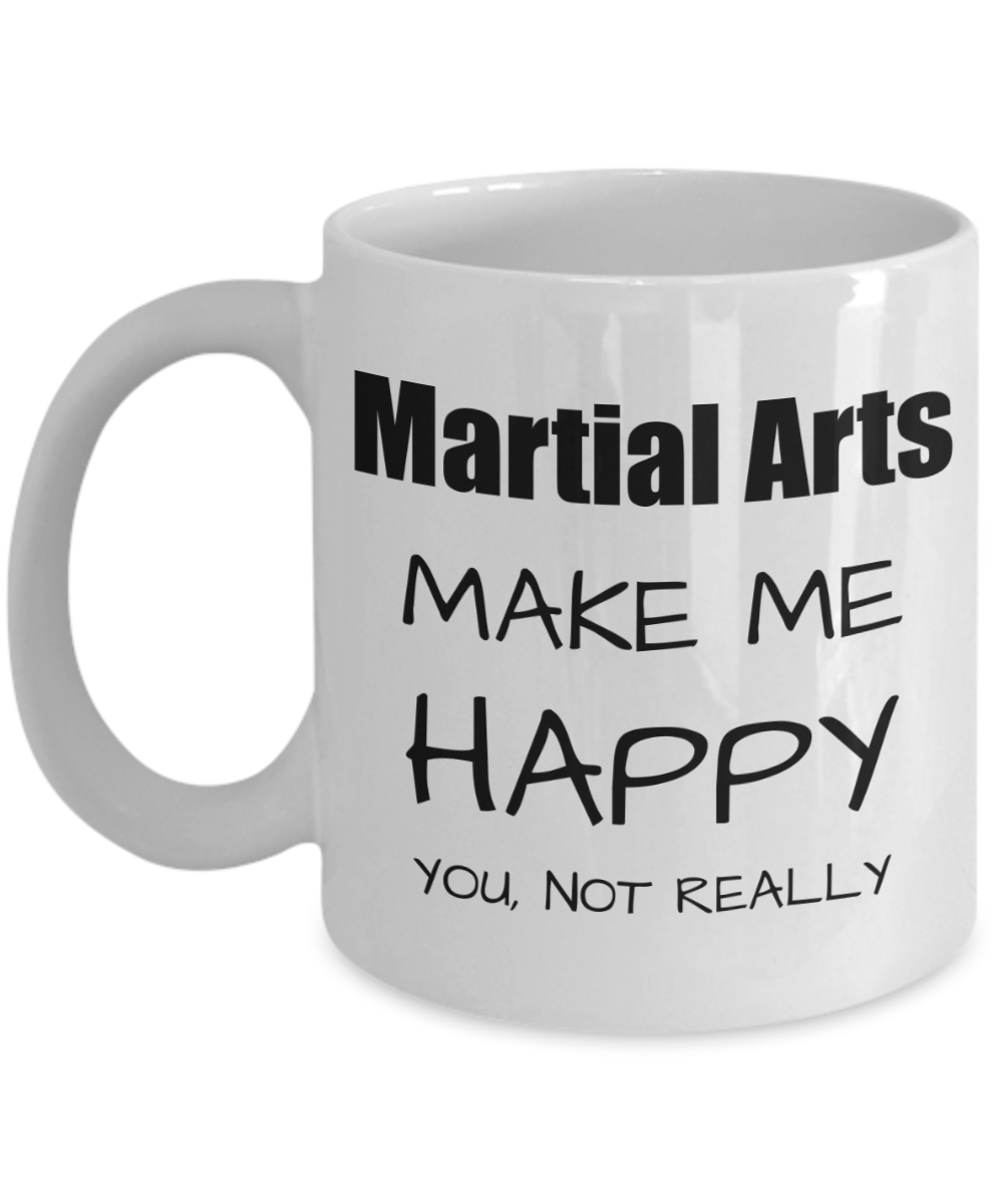 Martial Arts Lover Gift, Funny Martials Art Fan Mug, Hobby Birthday Gift