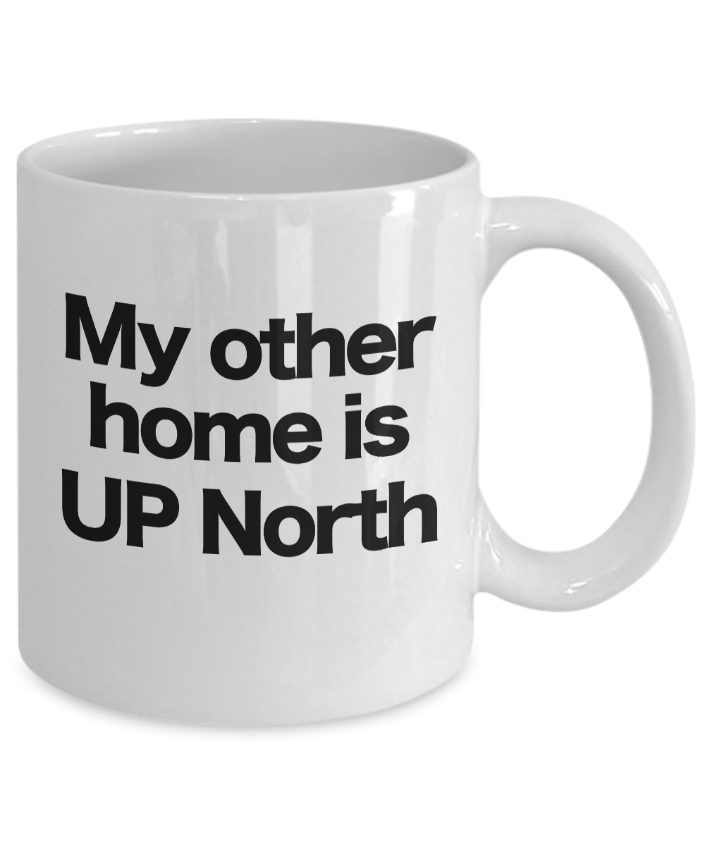 miniature 3 - UP North Home Coffee Mug Funny Gift for Pure Michigan Great Lakes Cabin Cottage