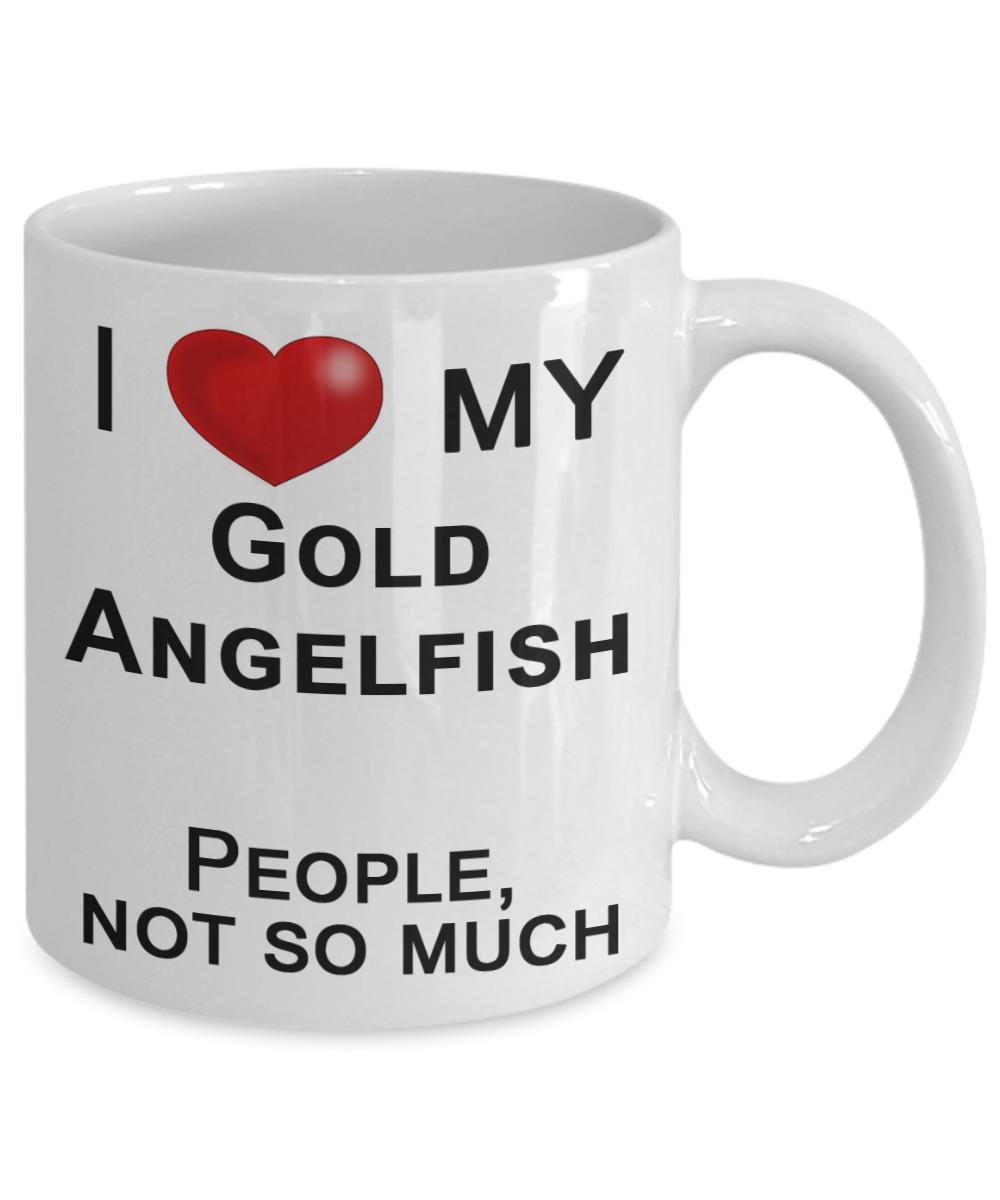 Live Freshwater Angelfish, Fish Lover Mug, Fish Dad Mug, Fish Mom ...