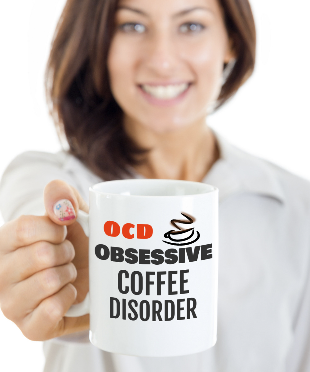Birthday Gift Idea Coffee Lovers Mug Front