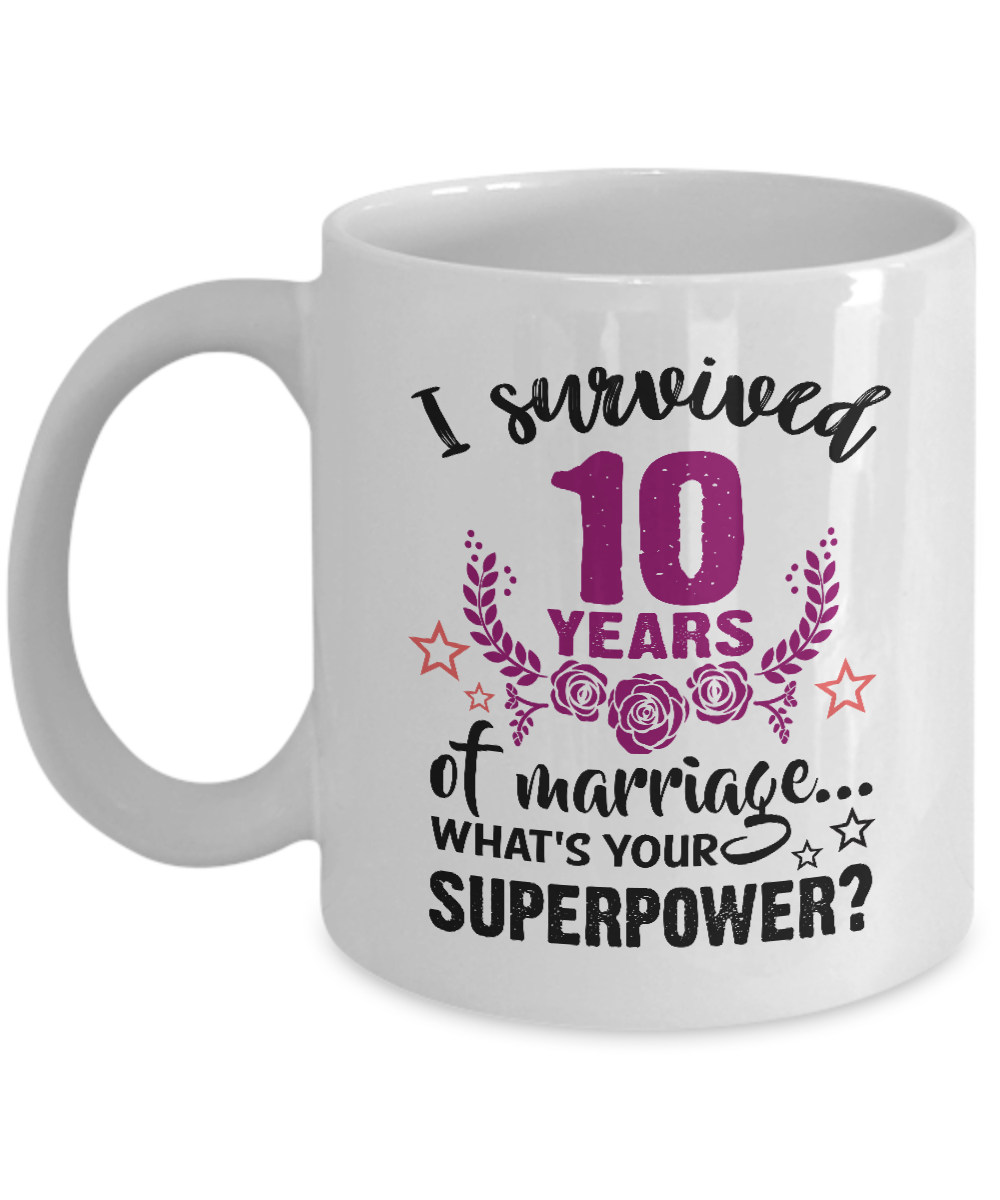 10rd wedding anniversary gifts for her him men women i survived 10