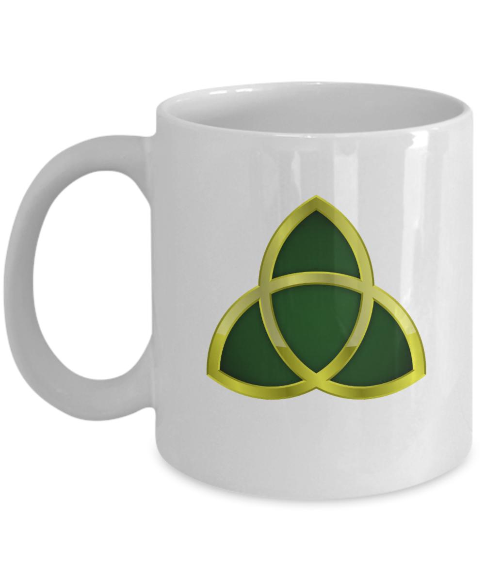 Triquetra Gold Trinity Symbol Celt Mythology Wicca Pagan Celtic