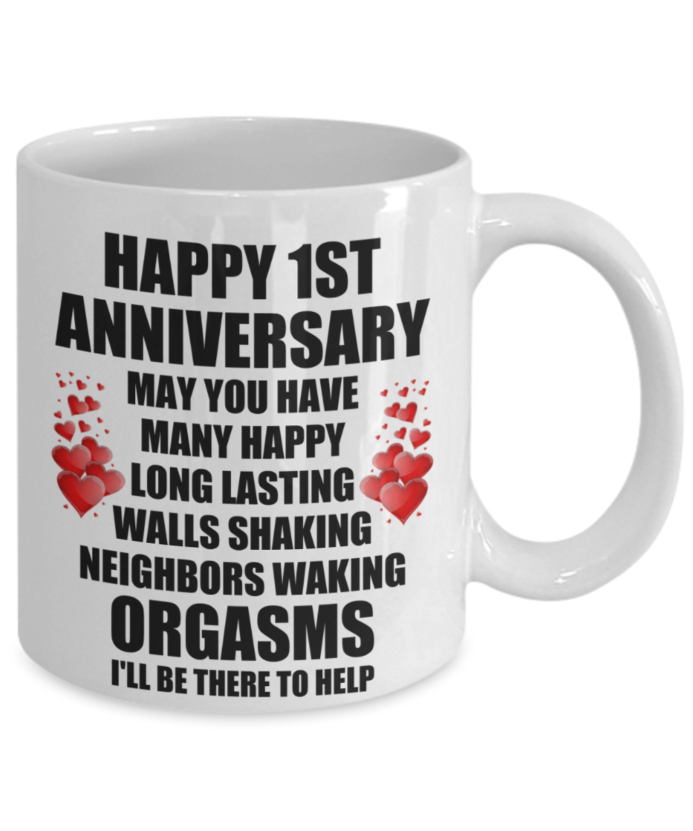 20 Year Wedding Anniversary Gift For Wife: 1st 1 Year Wedding Anniversary Gift For Husband Him Wife