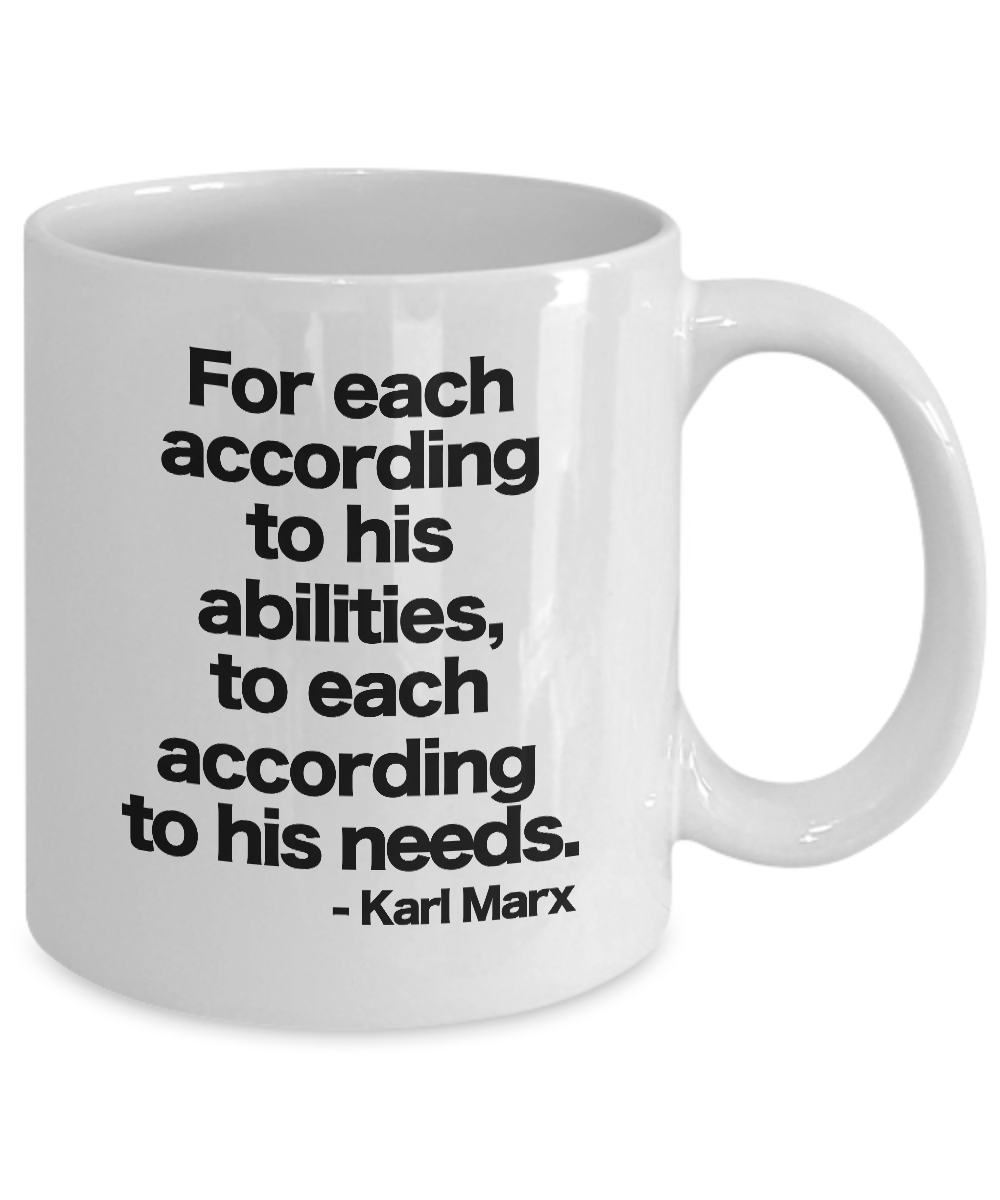 Karl Marx Mug White Coffee Cup Gift for Communist ...