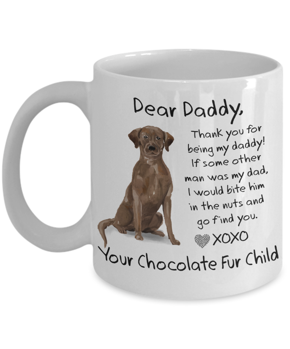 Dog dad mug Fathers day Christmas gift birthday present from the dog