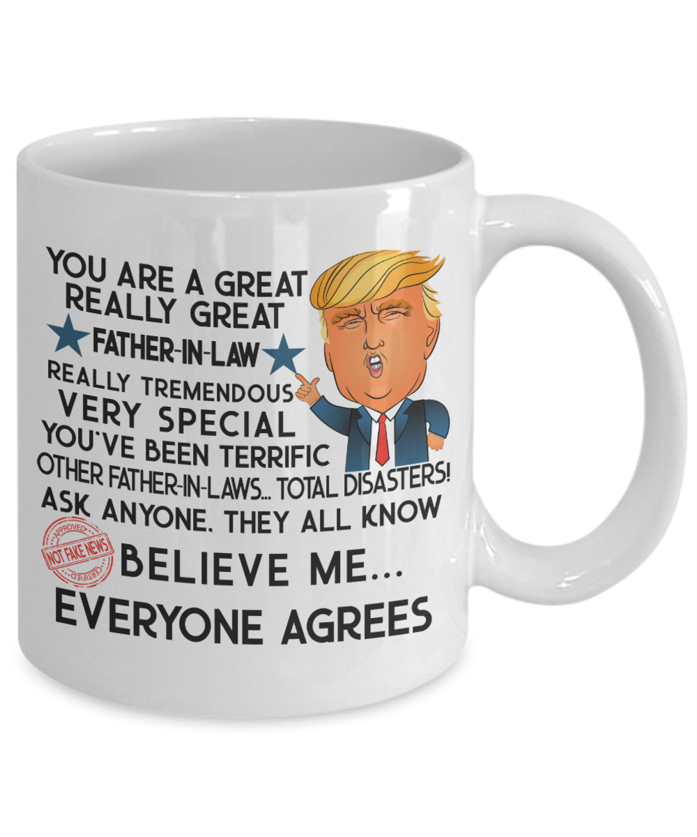 0ef84121f05 Trump Mug Gift Father In Law Fathers Day Gifts For Men Gifts For Him ...