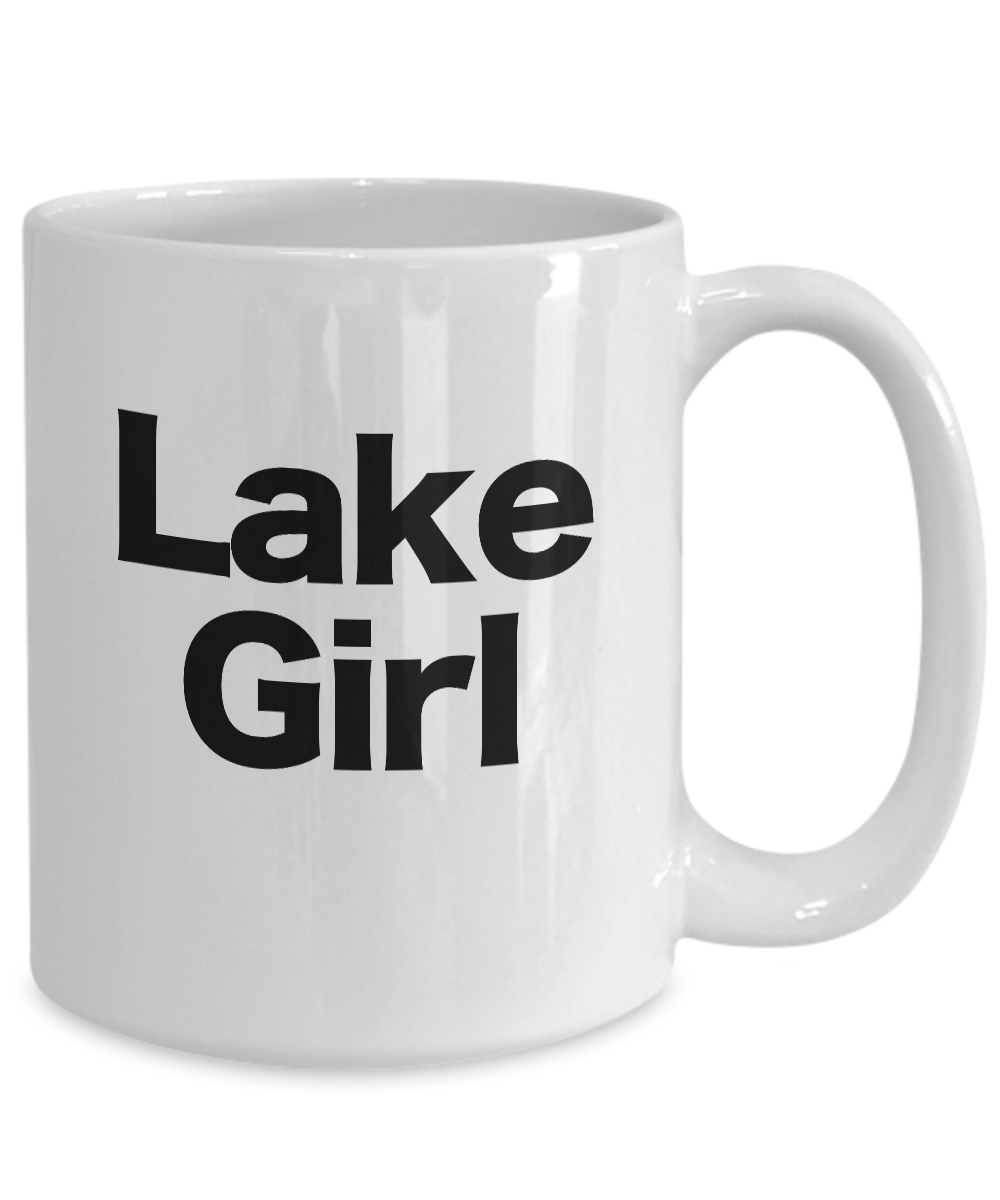Lake-Girl-Mug-Coffee-Cup-Gift-for-Great-Lakes-Tahoe-Placid-Como-Summer-Life miniature 5