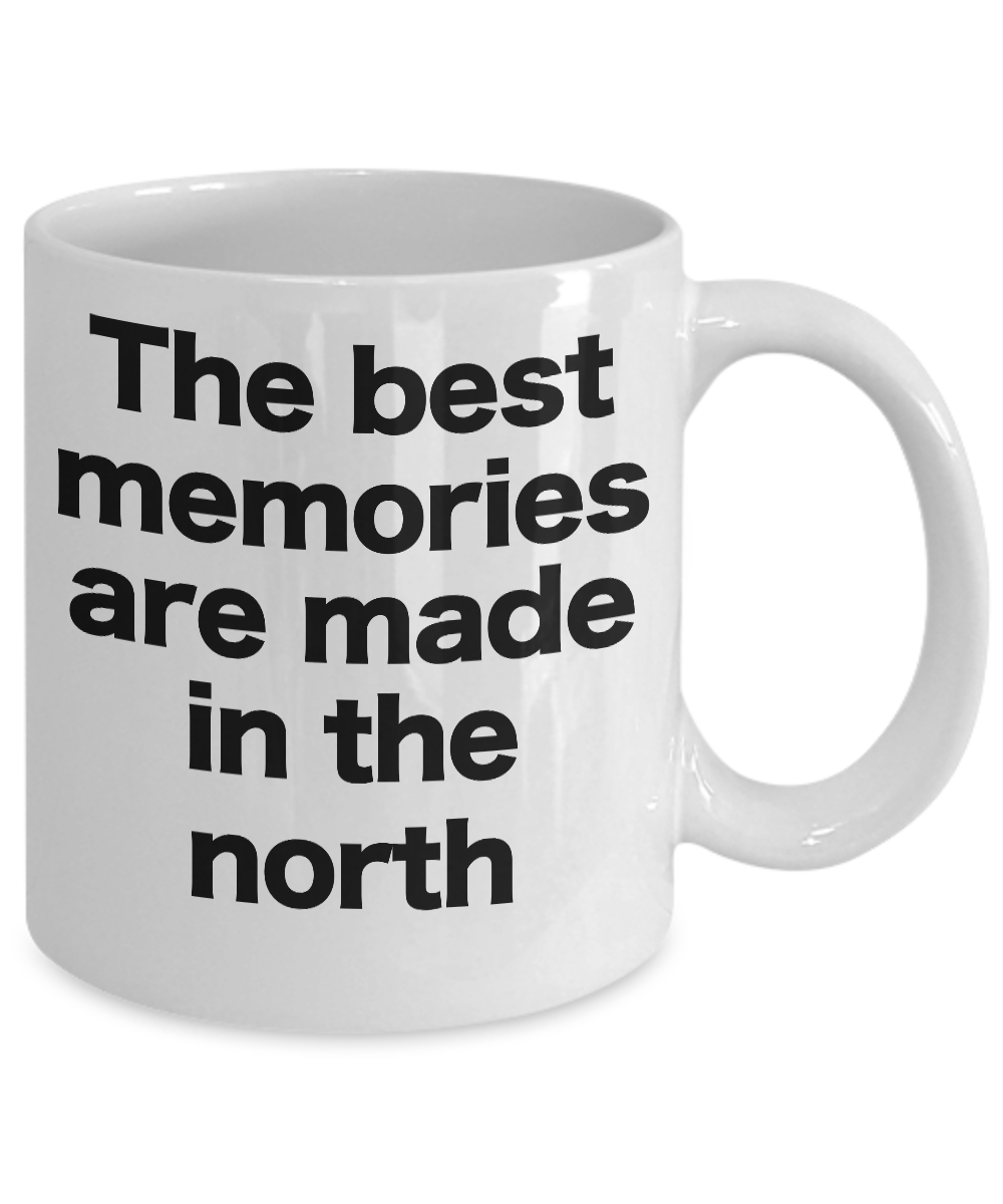 miniature 3 - The North Mug Coffee Cup Gift for True North Pole UP Woods Shore Memories