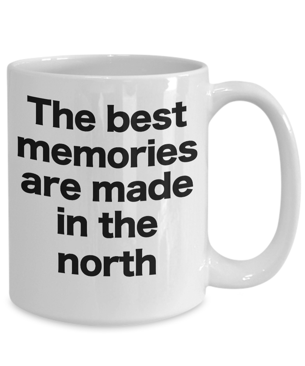 miniature 5 - The North Mug Coffee Cup Gift for True North Pole UP Woods Shore Memories