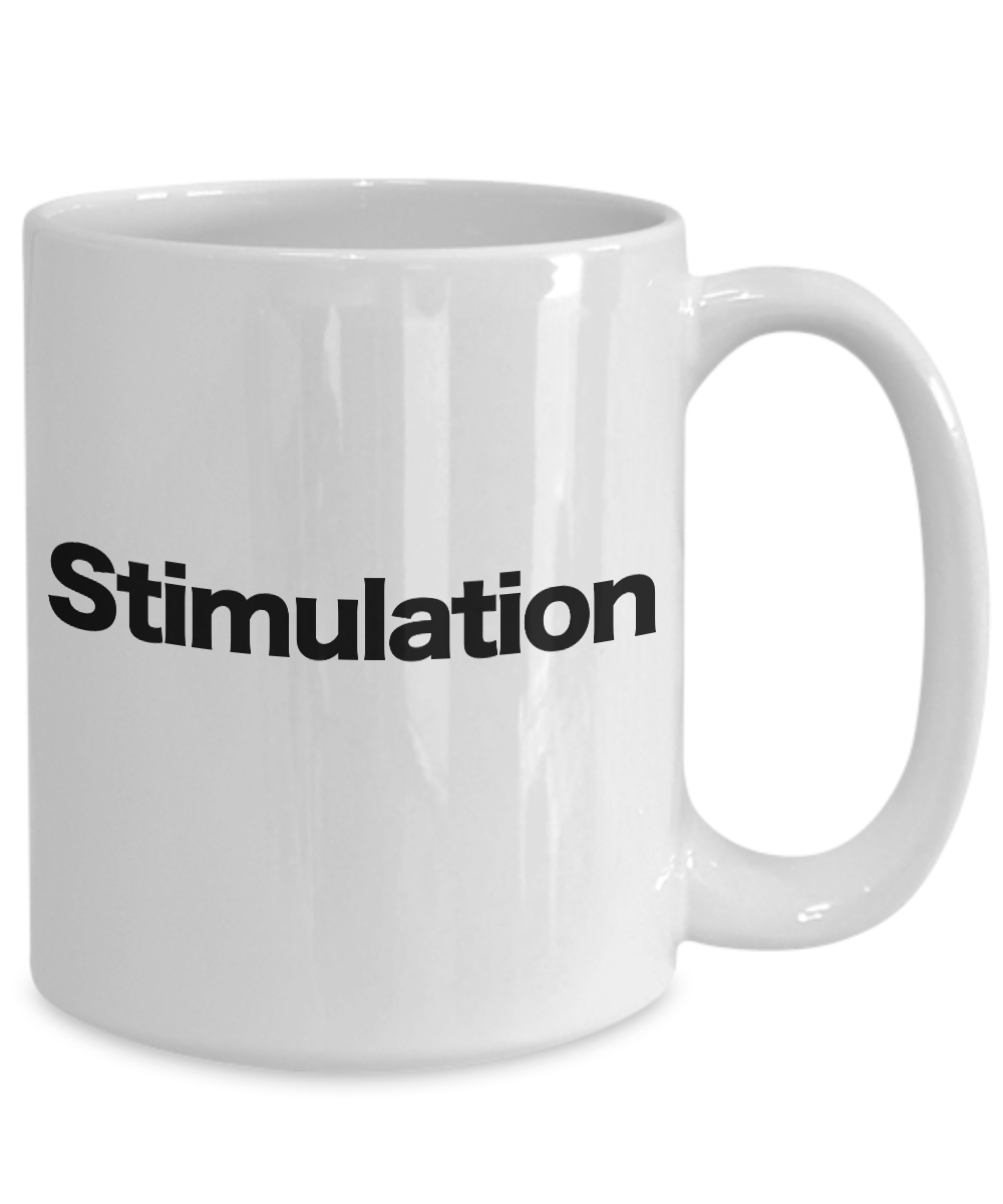Stimulant-Mug-White-Coffee-Cup-Funny-Gift-for-Caffeine-Addict-Good-Morning miniature 5