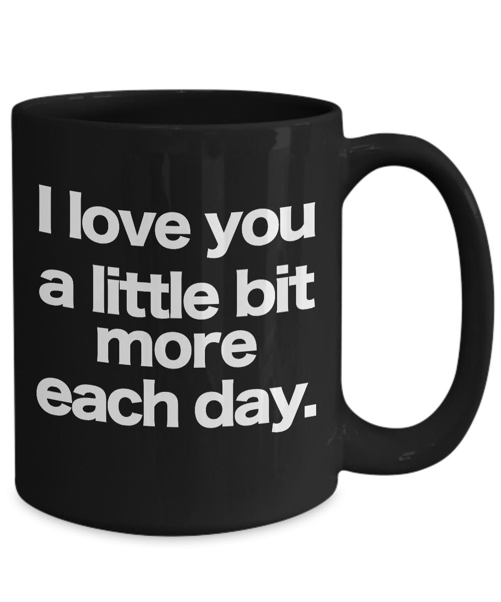 I-love-you-mug-Black-Coffee-Cup-Funny-Gift-for-Wife-Husband-Partner-Lover-Child miniature 5