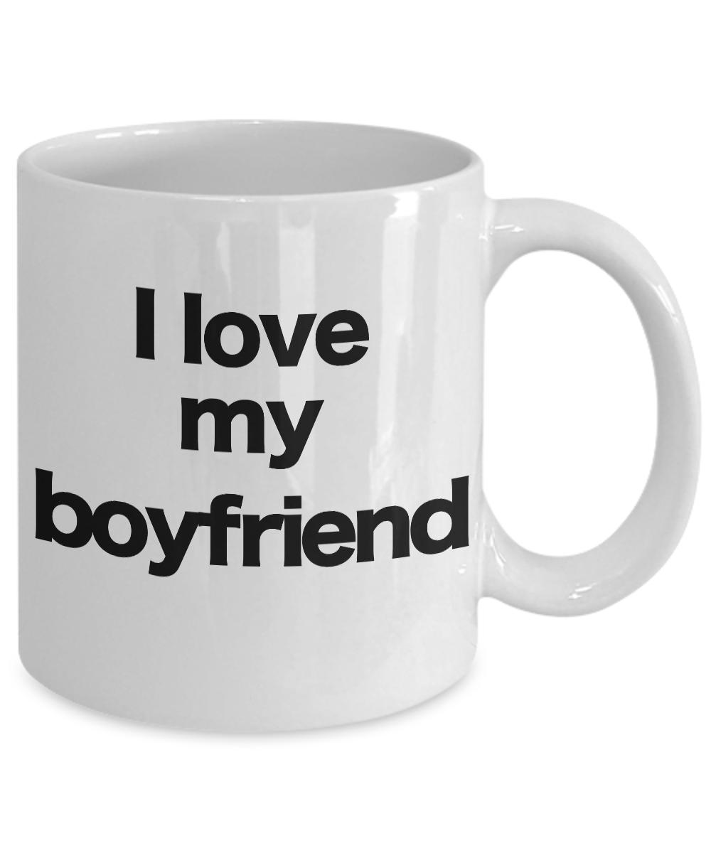 miniature 3 - Boyfriend-Mug-White-Coffee-Cup-Funny-Gift-for-Lover-Partner-Friend-Valentine