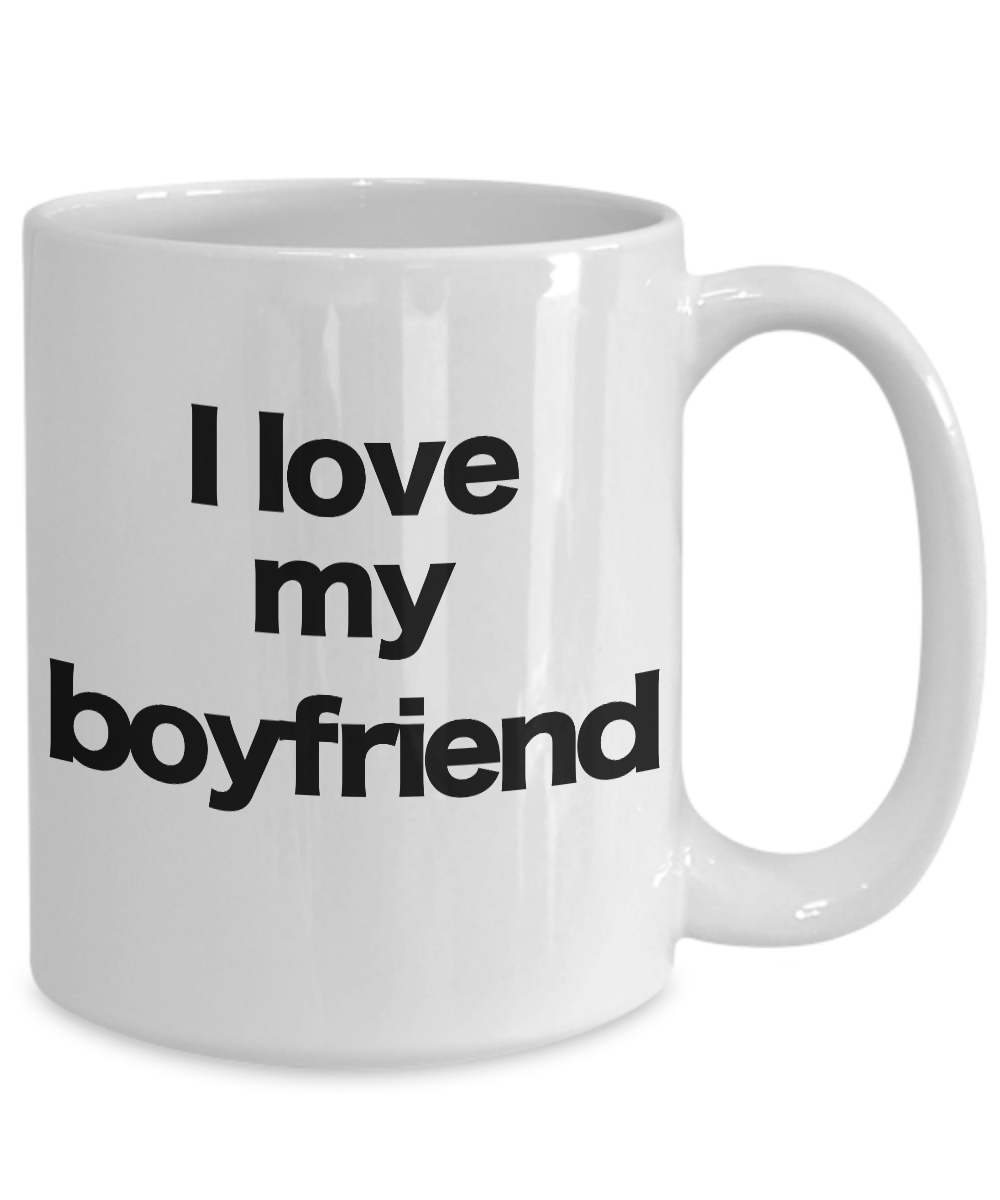 miniature 5 - Boyfriend-Mug-White-Coffee-Cup-Funny-Gift-for-Lover-Partner-Friend-Valentine