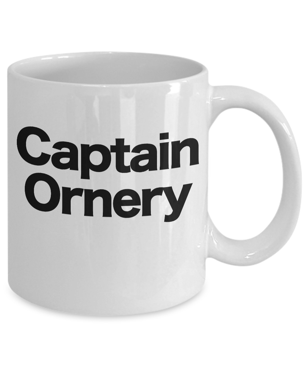 Captain-Ornery-Mug-White-Coffee-Cup-Funny-Gift-for-Curmudgeon-Hermit-Dad-Uncle-G miniature 3
