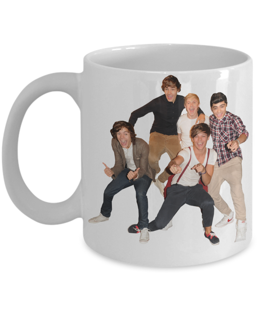Exclusive One Direction 1D Coffee Mug - One Direction Christmas ...