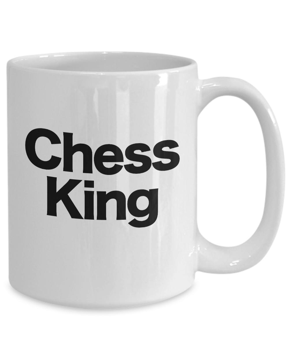 Chess-King-Mug-White-Coffee-Cup-Funny-Gift-for-Gamer-Grandmaster-Player miniature 5