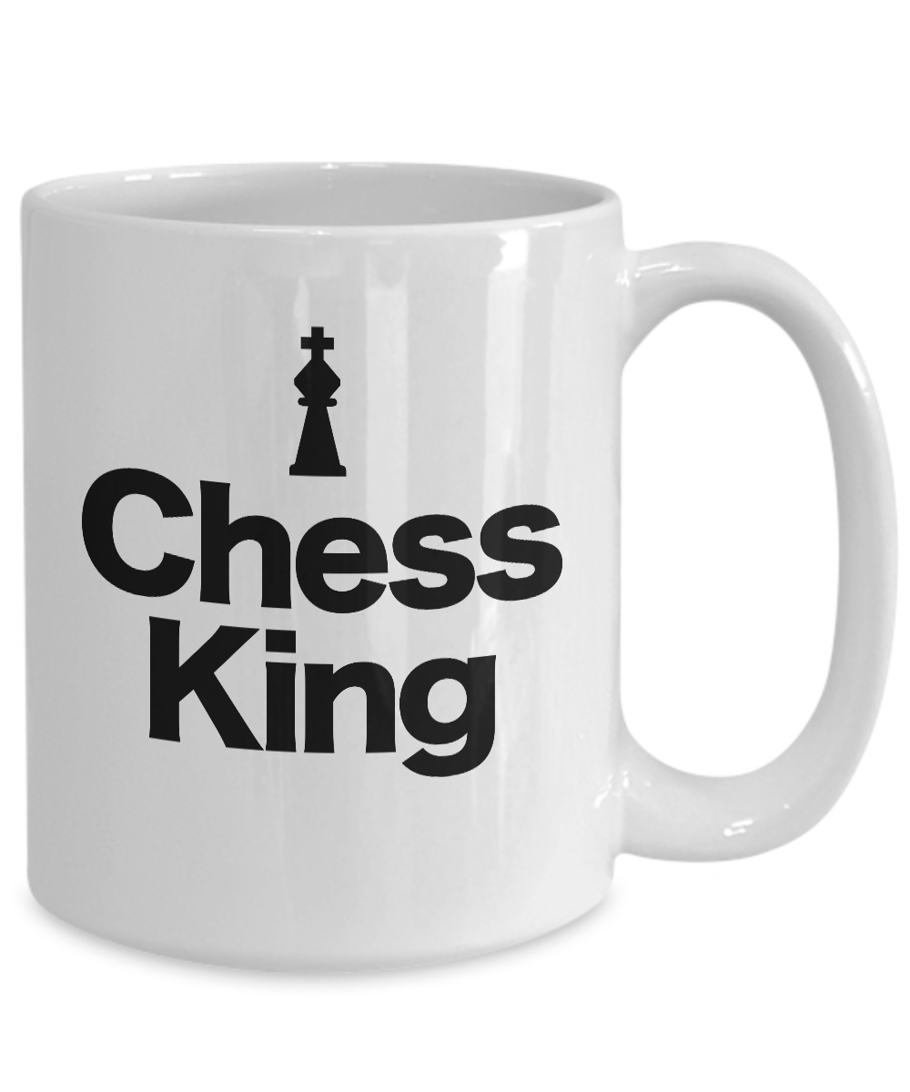 Chess-King-Piece-Mug-White-Coffee-Cup-Funny-Gift-for-Gamer-Grandmaster miniature 5
