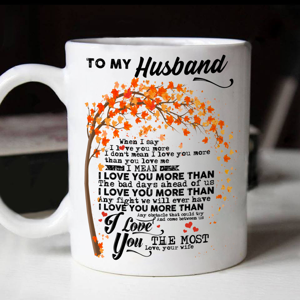 Husband Mug For Gifts To My Best Gift And Wife Idea