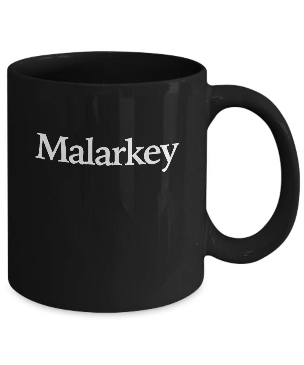 miniature 3 - Shenanigans and Malarkey Mug Black Coffee Cup Funny Gift for St Patricks Day