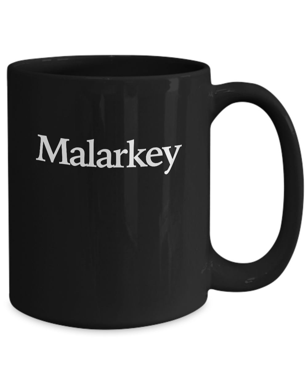 miniature 5 - Shenanigans and Malarkey Mug Black Coffee Cup Funny Gift for St Patricks Day