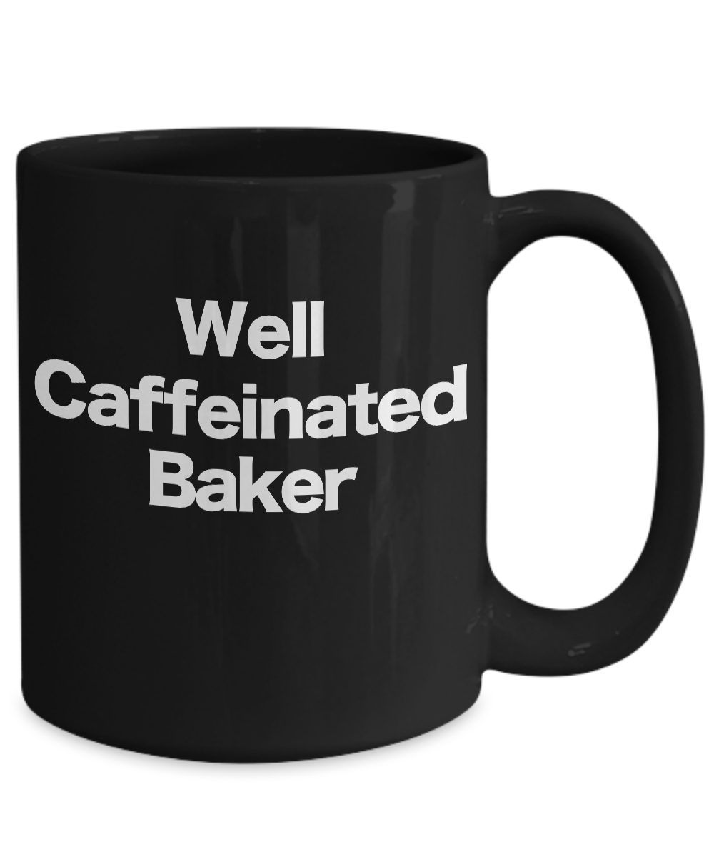 Baker-Mug-Black-Coffee-Cup-Funny-Gift-for-Baking-Star-Mom-Pastry-Chef miniature 5