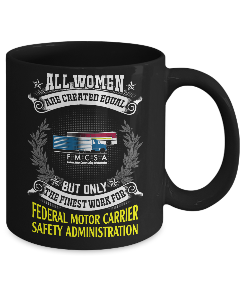 Federal motor carrier safety administration women for Motor carrier safety administration