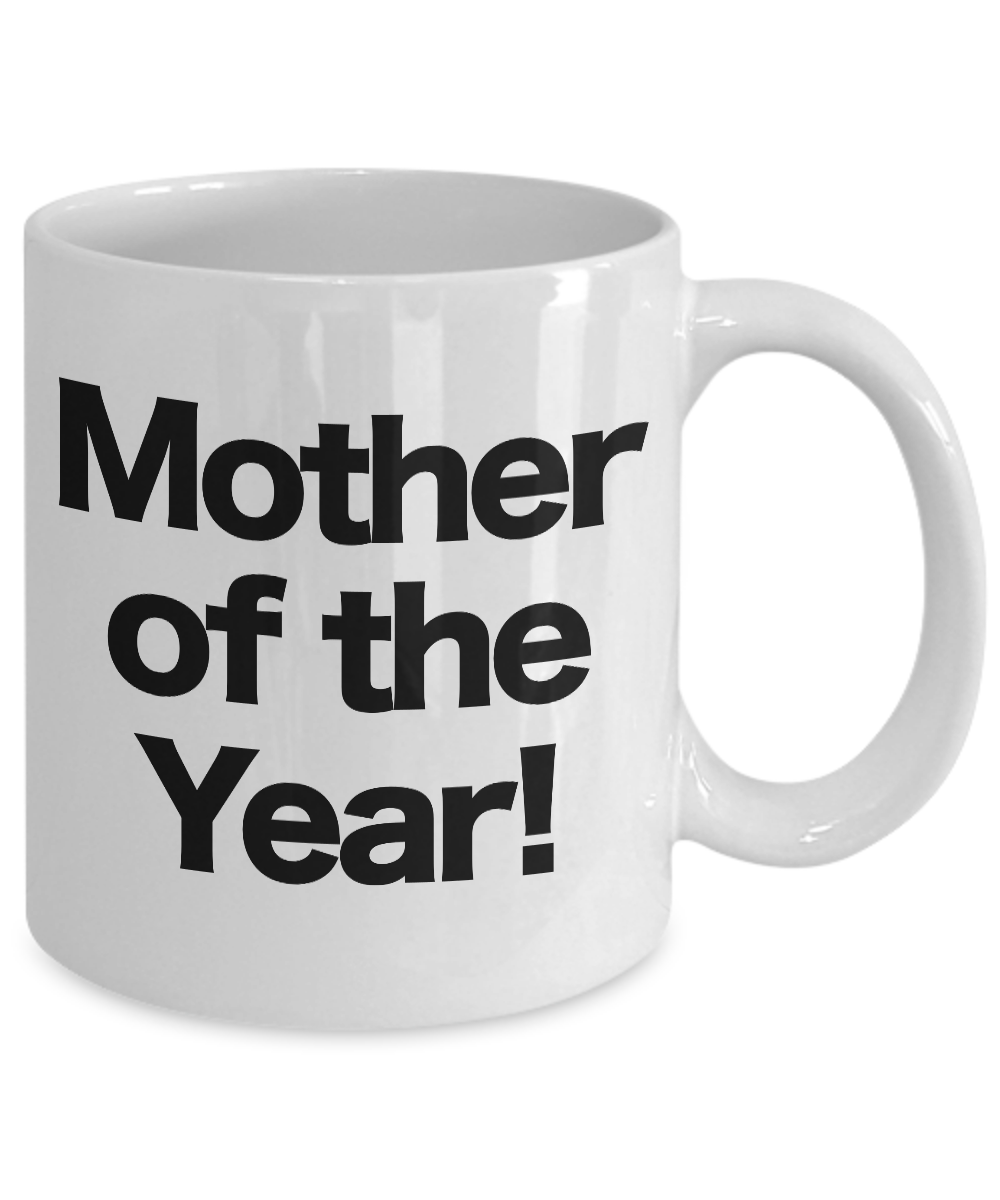 Mother-of-the-Year-Mug-White-Coffee-Cup-Funny-Gift-for-Mom-Birthday miniature 3