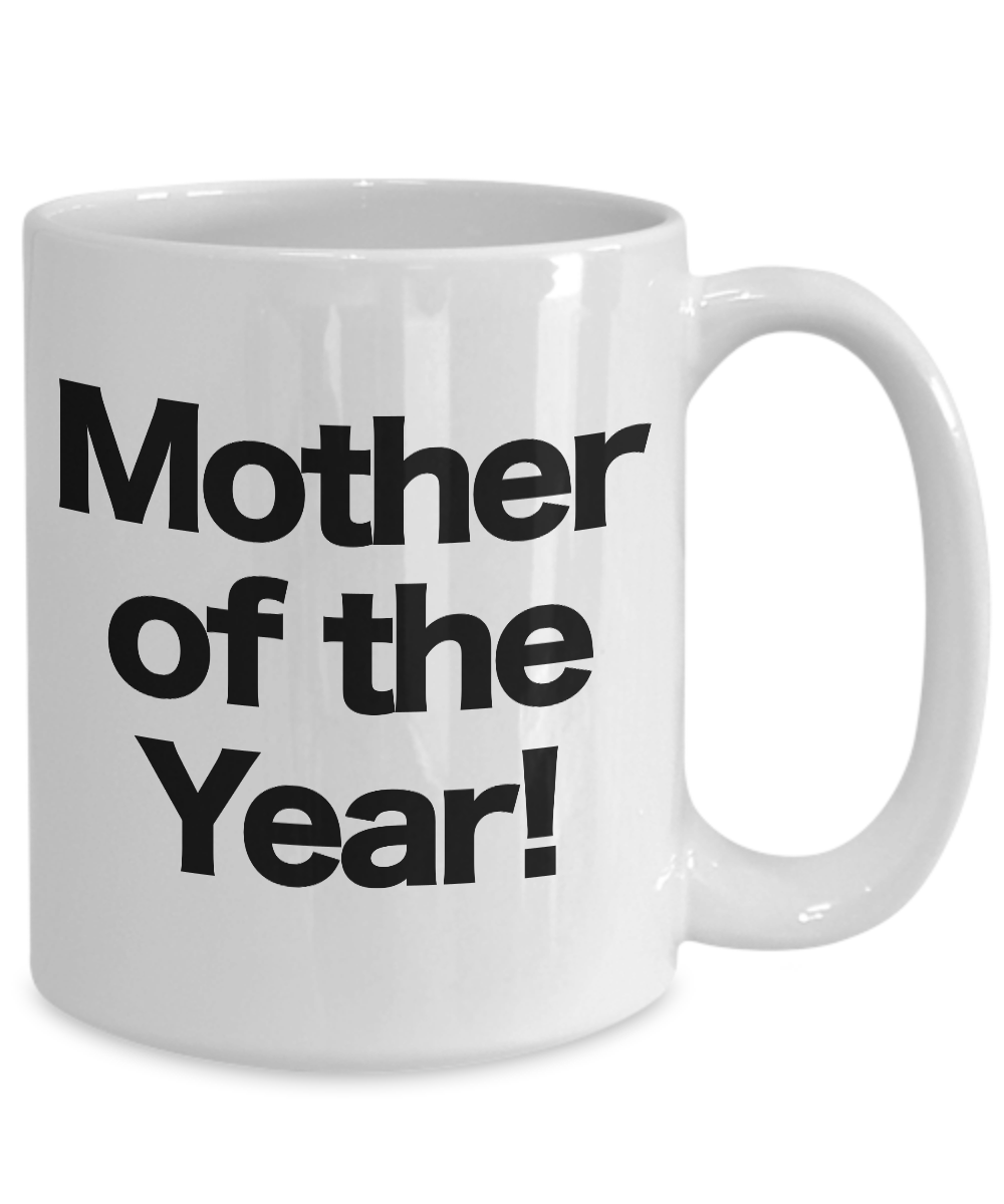 Mother-of-the-Year-Mug-White-Coffee-Cup-Funny-Gift-for-Mom-Birthday miniature 5