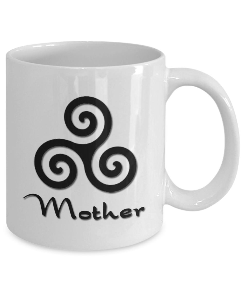Ancient Symbols Mother 11oz Ceramic Mug Great For Coffee Or Tea