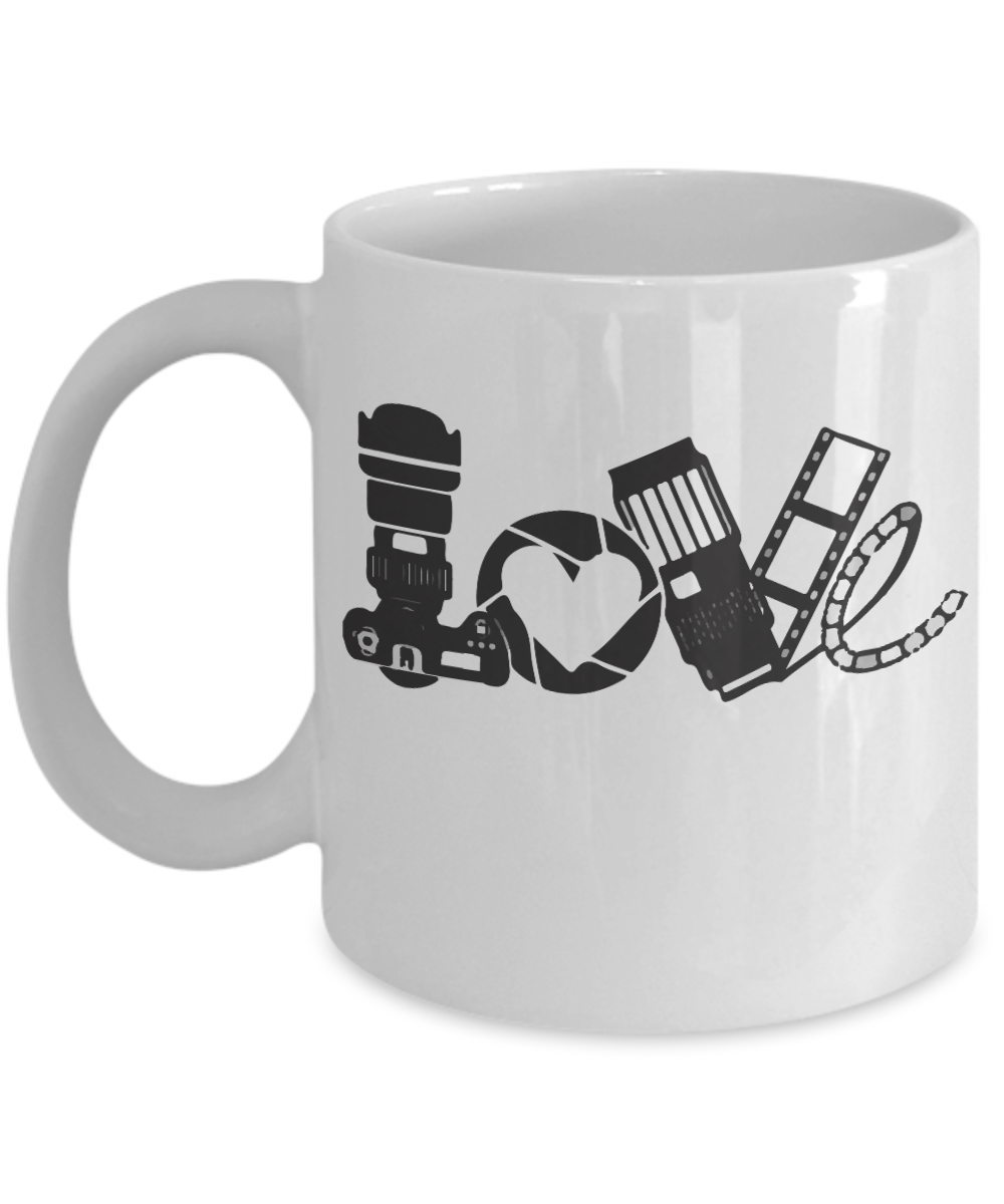 Photographer Coffee Mug I Love Photography 11 15 Oz Ceramic Coffee Mugs Perfect Gift For Every Situation Unique On Demand Coffee Mugs Tea Cup