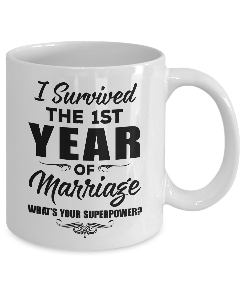 1st Wedding Anniversary Gifts For Men: 1st Wedding Anniversary Gift For Husband Men Women Wife 1