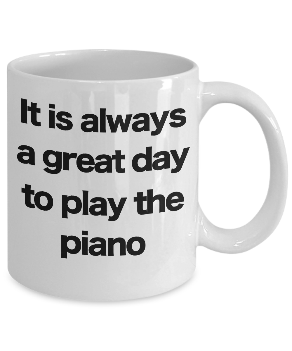 miniature 3 - Piano-Mug-White-Coffee-Cup-Funny-Gift-for-Musician-Teacher-Director-Leaders