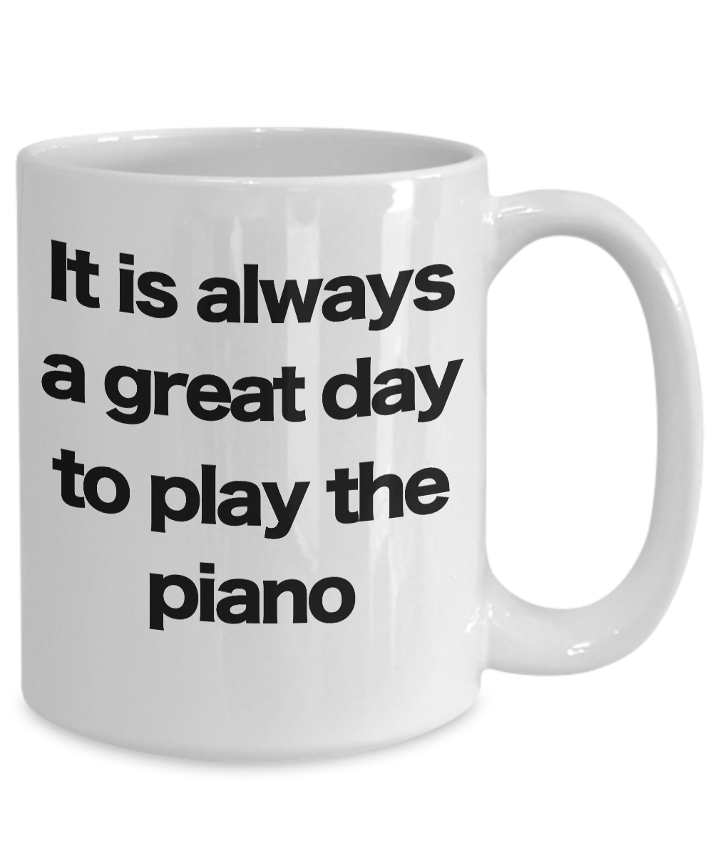 miniature 5 - Piano-Mug-White-Coffee-Cup-Funny-Gift-for-Musician-Teacher-Director-Leaders